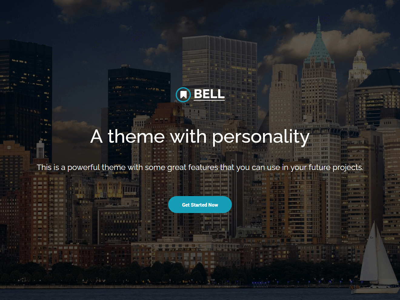 Bell - Free Multipurpose Bootstrap 4 Template