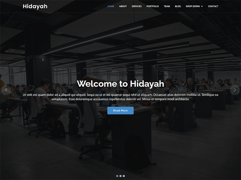 Hidayah - Bootstrap Corporate Template