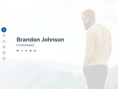 MyResume – Bootstrap Resume and Portfolio Template