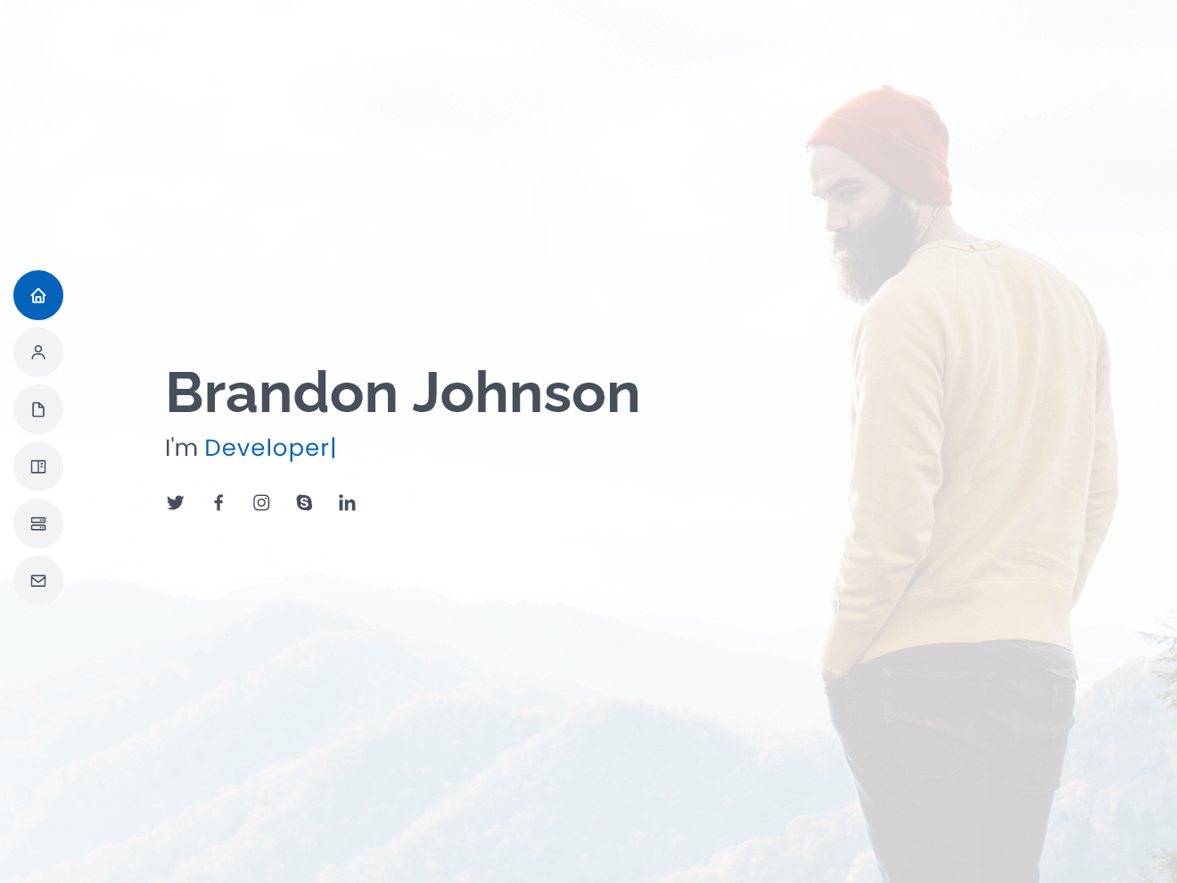 Permanent Link to Free HTML bootstrap template – My Resume